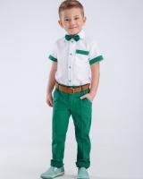 "Комплект (брюки, рубашка,бабочка) ""Green"" Zironka"