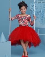 """Нарядное детское платье """"Red"""" Zironka"""