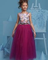 """Нарядное детское платье """"Пурпурное"""" Zironka"""