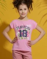 "Детская футболка  ""Flowersr"" Zironka"