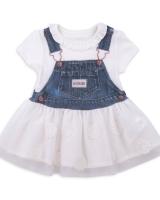 """Детское платье с вышивкой """"Цветы"""" Kitikate"""