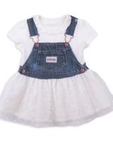 """Детское платье с вышивкой """"Love"""" Kitikate"""