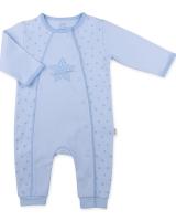 "Детский комбинезон из органического хлопка  ""Blue star"" Kitikate"