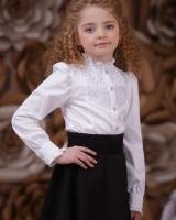 Детская белая блузка Zironka