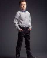 """Детские брюки для мальчика """"Black"""" Zironka"""