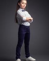 """Детская брюки для девочки """"Blue"""" Zironka"""