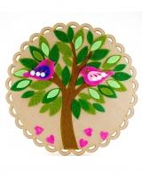 """Аппликация из фетра """"Дерево"""" Аплі-Краплі"""