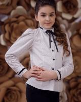 """Детская блузка  """"Горошек""""  Zironka"""