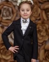 """Детский жакет для девочки """"Black"""" Zironka"""