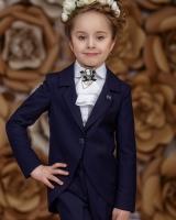 """Детский жакет для девочки """"Blue"""" Zironka"""