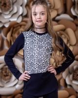"""Детская блузка """"Цветы"""" Zironka"""