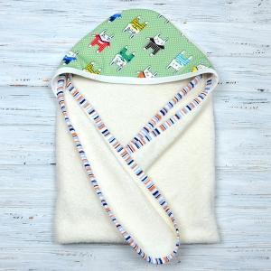 """Детский полотенце """"Зайки"""" Plamka"""