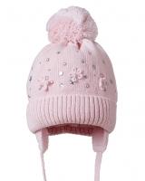 """Детская шапка  """" Barbaras светло розовая"""" Nikola"""