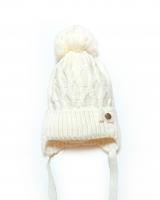 "Детская теплая шапка "" White"" Barbaras"