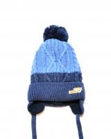 "Детская теплая шапка ""Blue"" Barbaras"