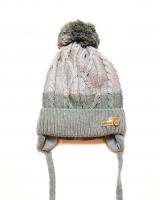 "Детская теплая шапка ""Gray"" Barbaras"
