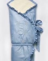 """Конверт-одеяло зимний на меху """"Сказка"""" Модный карапуз"""